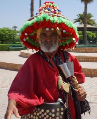 Water man, Marrakech