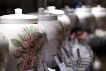 Tea stand in KaDeWe department store