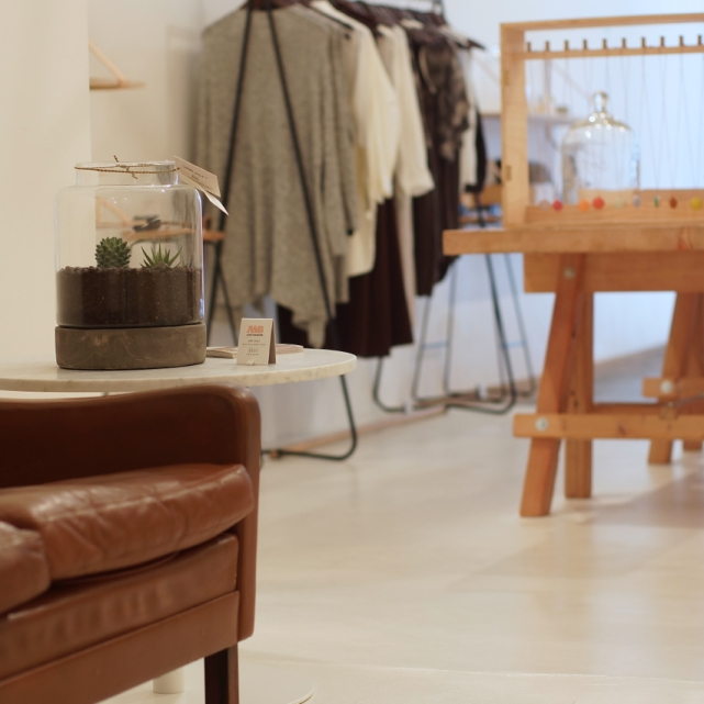 Second nature pop-up store