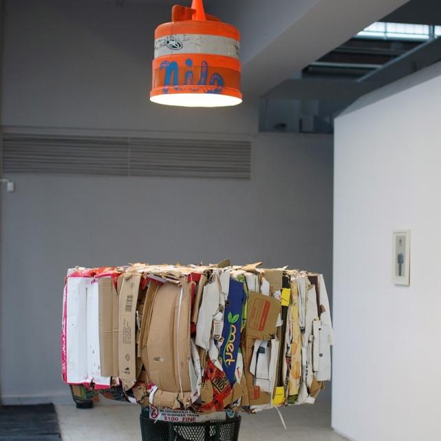 Klara Lidén, the installation Untitled