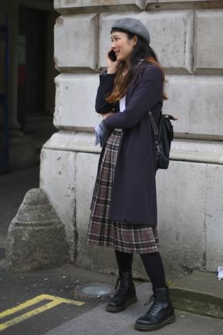 On the street, London