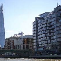 London seen from the Thames