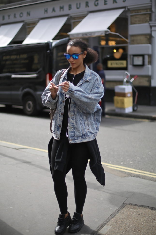 On the street – London